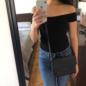 Kate Spade  - Black Saffiano Leather Purse